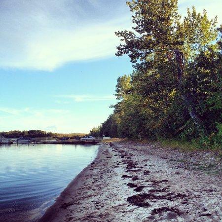 Plamondon, Canada: Lake access from site 2A