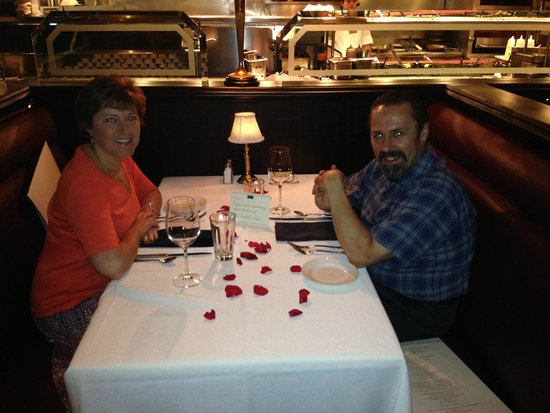 The Capital Grille: Our table