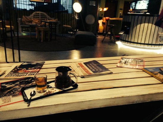 25hours Hotel at MuseumsQuartier : rooftop cafe and bar