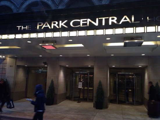 Park Central Hotel New York: L'ingresso del hotel