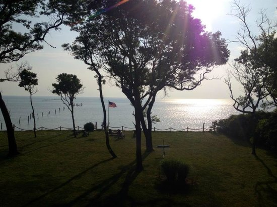 The Baywood Bed and Breakfast : View from bedroom