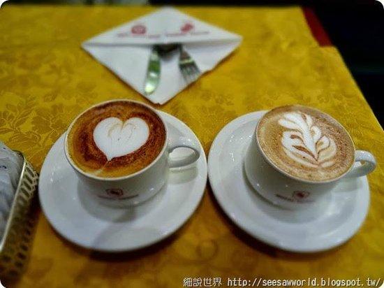Hotel Berna : 早餐就能有超棒的拉花
