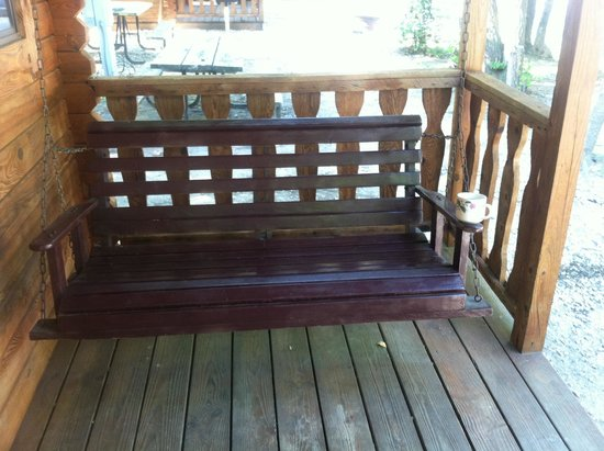 Porch Swing Morning Coffee Picture Of Driftwood Rv Resort Amp Campground Clermont Tripadvisor