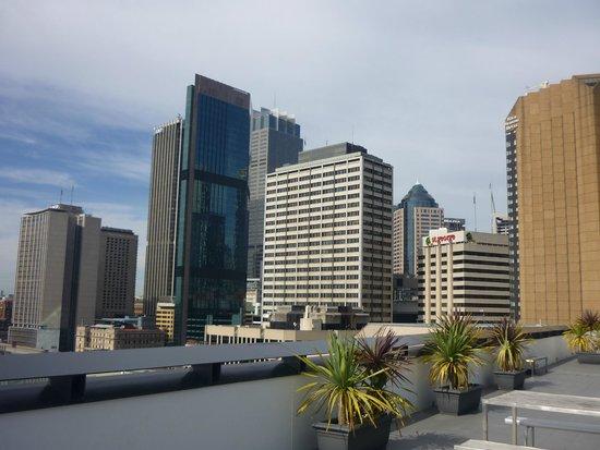 Sydney Harbour YHA : Vista desde la terraza