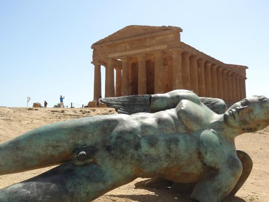 Sicily Tour Guides Agrigento: 美麗的神殿谷