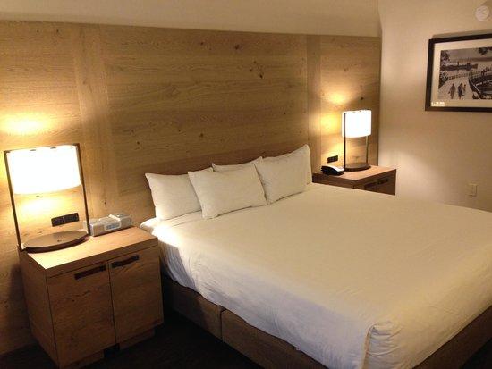 Hyatt Regency Lake Tahoe Resort, Spa and Casino: Forgettable bed linens