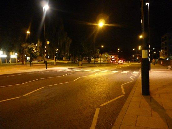 Holiday Inn London - Wembley: The street..