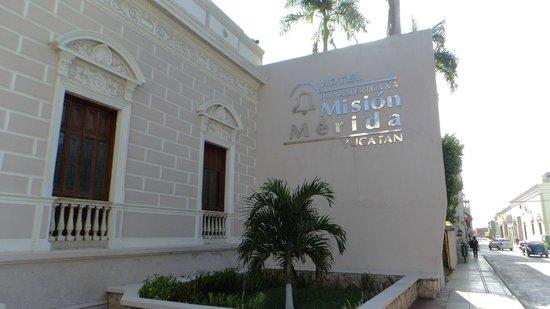 Mision Merida Panamericana: Entrada