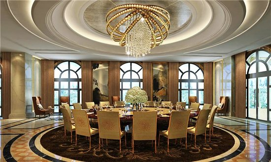 VIP Dining Room Picture Of Hilton Haikou Meilan Haikou
