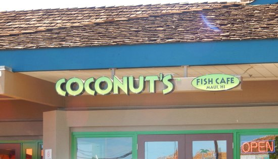 Coconut's Fish Cafe: Outside of the restaurant