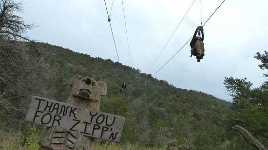 Royal Gorge Zip Line Tours: Zip line race