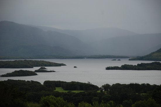 Aghadoe Heights Hotel & Spa: view of the lake from our room