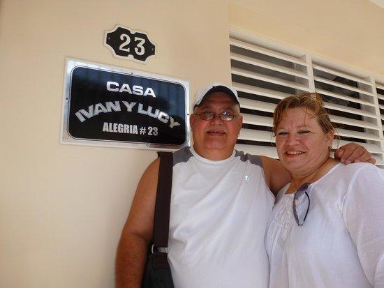 Casa Hostal Ivan & Lucy: con mi novia lourdes