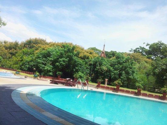 Thande Hotel Bagan : Bagan Thande Pool