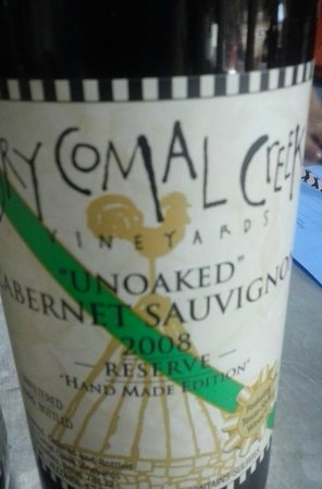 Dry Comal Creek Vineyards: What a good Year
