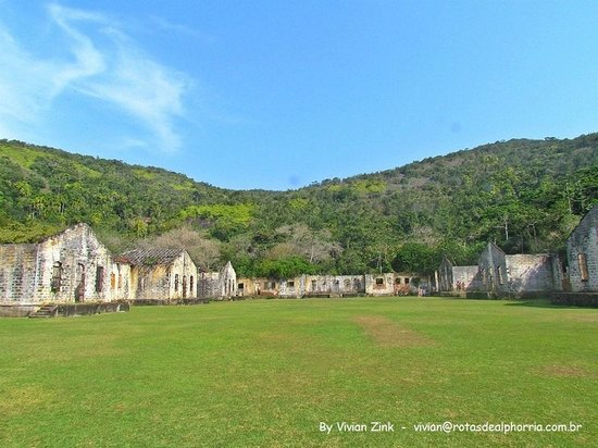 Ilha Anchieta State Park: Ruínas do Antigo Presídio