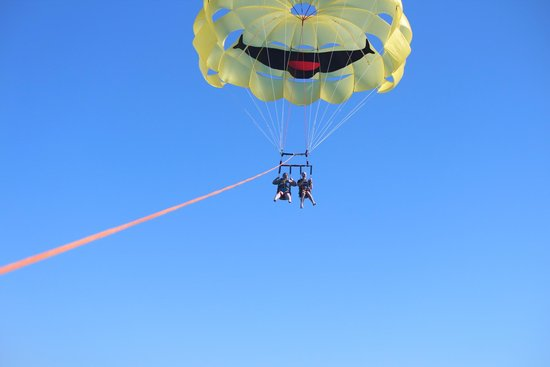 San Diego Parasail Adventures: In action