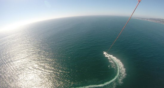 San Diego Parasail Adventures: The view
