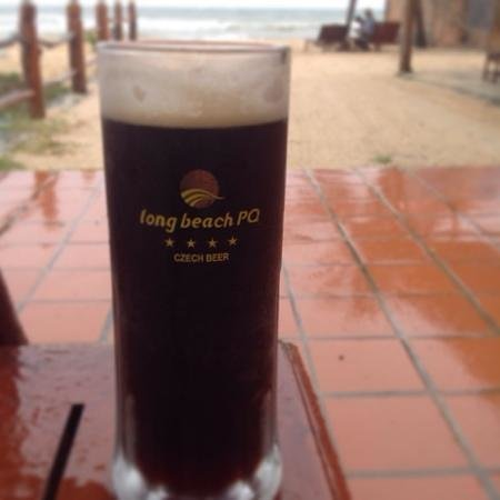Long Beach Resort Phu Quoc: black beer
