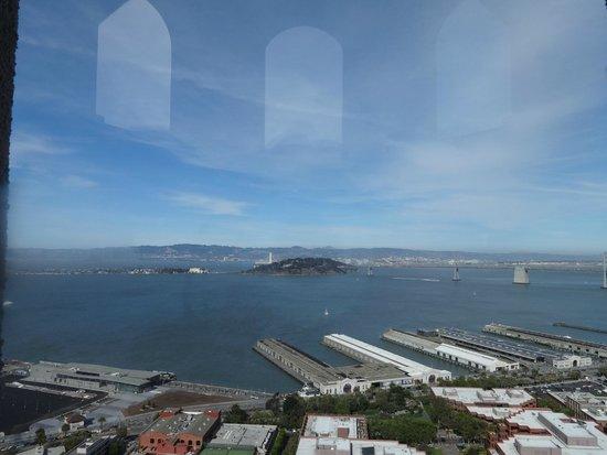 Coit Tower : Vista da cidade a partir da torre