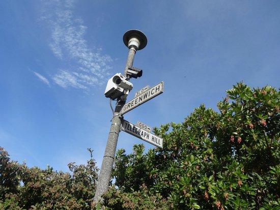 Coit Tower : Placa da Telegraph Hill