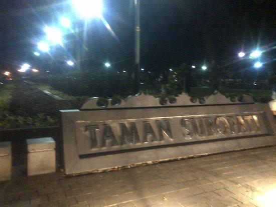 Taman Suropati: park tittle