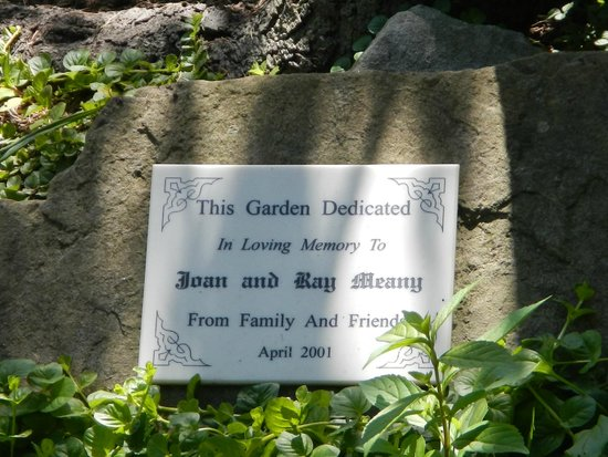 Cape May County Park & Zoo: Garden Memorial Plaque for my parents