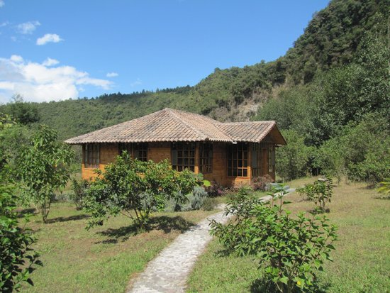 El Refugio de Intag Lodge: Our Cabin