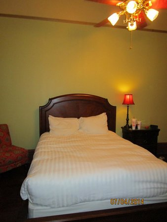 The Fitzpatrick Hotel: Extra Comfortable bed!!