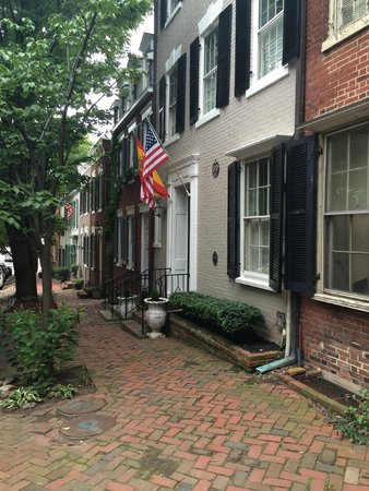 Old Town: historic homes