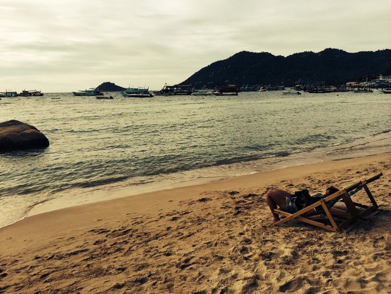 Koh Tao Royal Resort: Mae Haad - in front