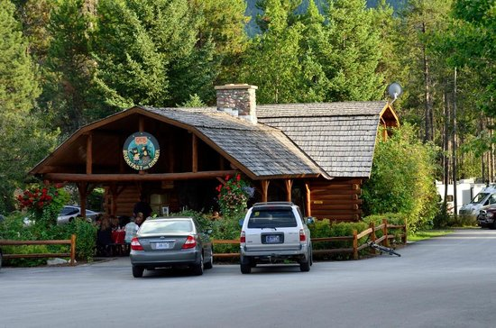 West Glacier KOA : Get your dinner here