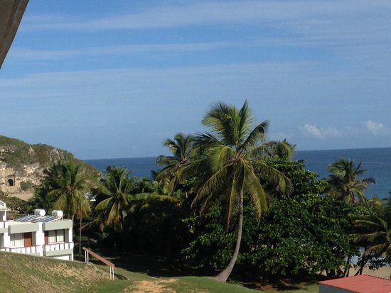 Hotel El Guajataca : View from the room