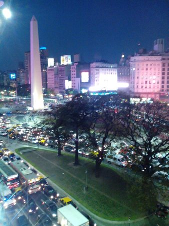 Bristol Hotel Buenos Aires : Vista nocturna