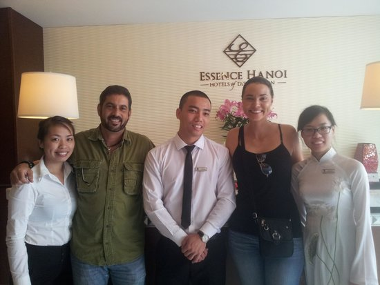 Essence Hanoi Hotel & Spa: Staff made all the difference