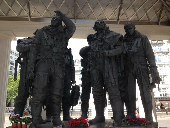Bomber Command Memorial: The Memorial