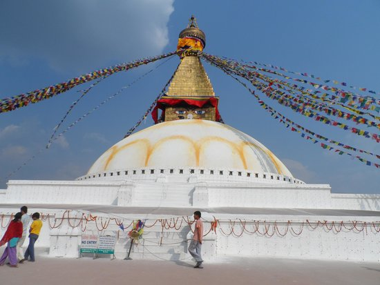 Boudhanath Stupa: Bauddhanath Stupa.