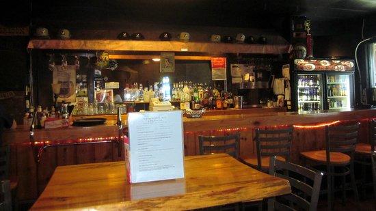 Two Bit Saloon: The Bar