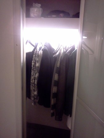 W New York: Nice lighted closet.