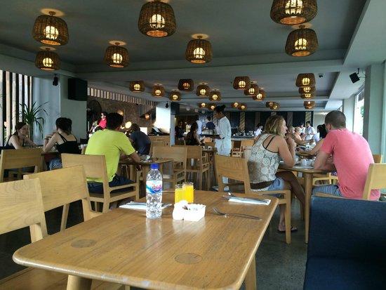 U Paasha Seminyak: Breakfast Area