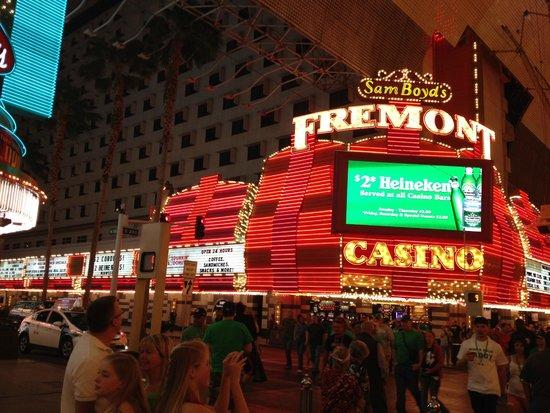 Fremont Hotel and Casino: Entrada al hotel Fremont