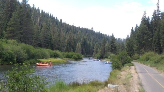 Tahoe City - South/North Trailheads: Scenic, paved the trail along the beautiful Truckee River, great for hiking, biking, blading...!