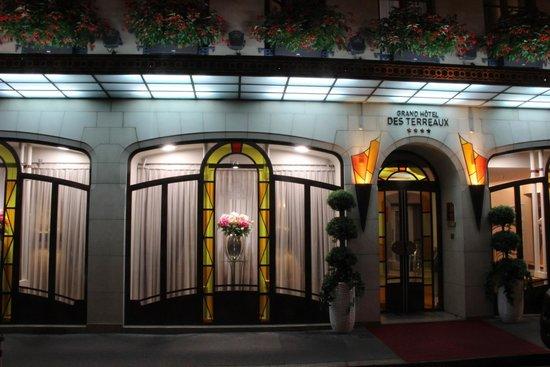 Grand Hotel des Terreaux: Main entrance