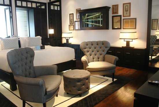 The spacious suite at The Siam.