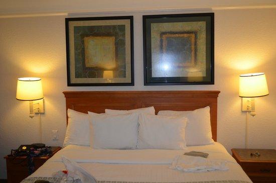 La Quinta Inn & Suites Ft. Lauderdale Plantation: Cama muito boa