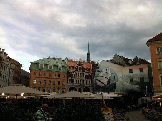 Old City Riga (Vecriga): Late afternoon in the old town