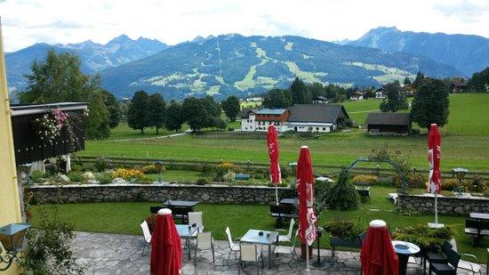 Almfrieden Wander- und Langlaufhotel: Panoramablick vom Zimmer