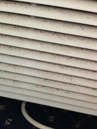 Red Roof Inn Knoxville Central - Papermill Road: Dust & Mold in AC vents