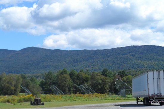 Golden Eagle Resort: Beautiful mountains in stowe!