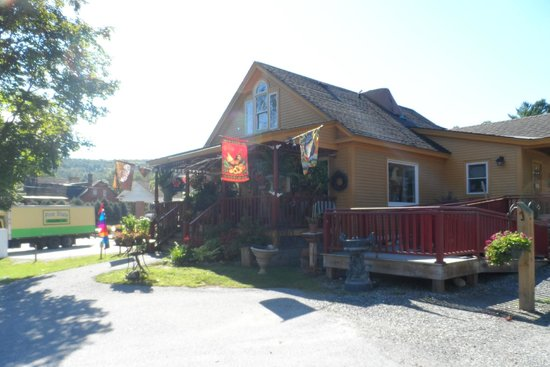 Golden Eagle Resort: one of the stores in the town..